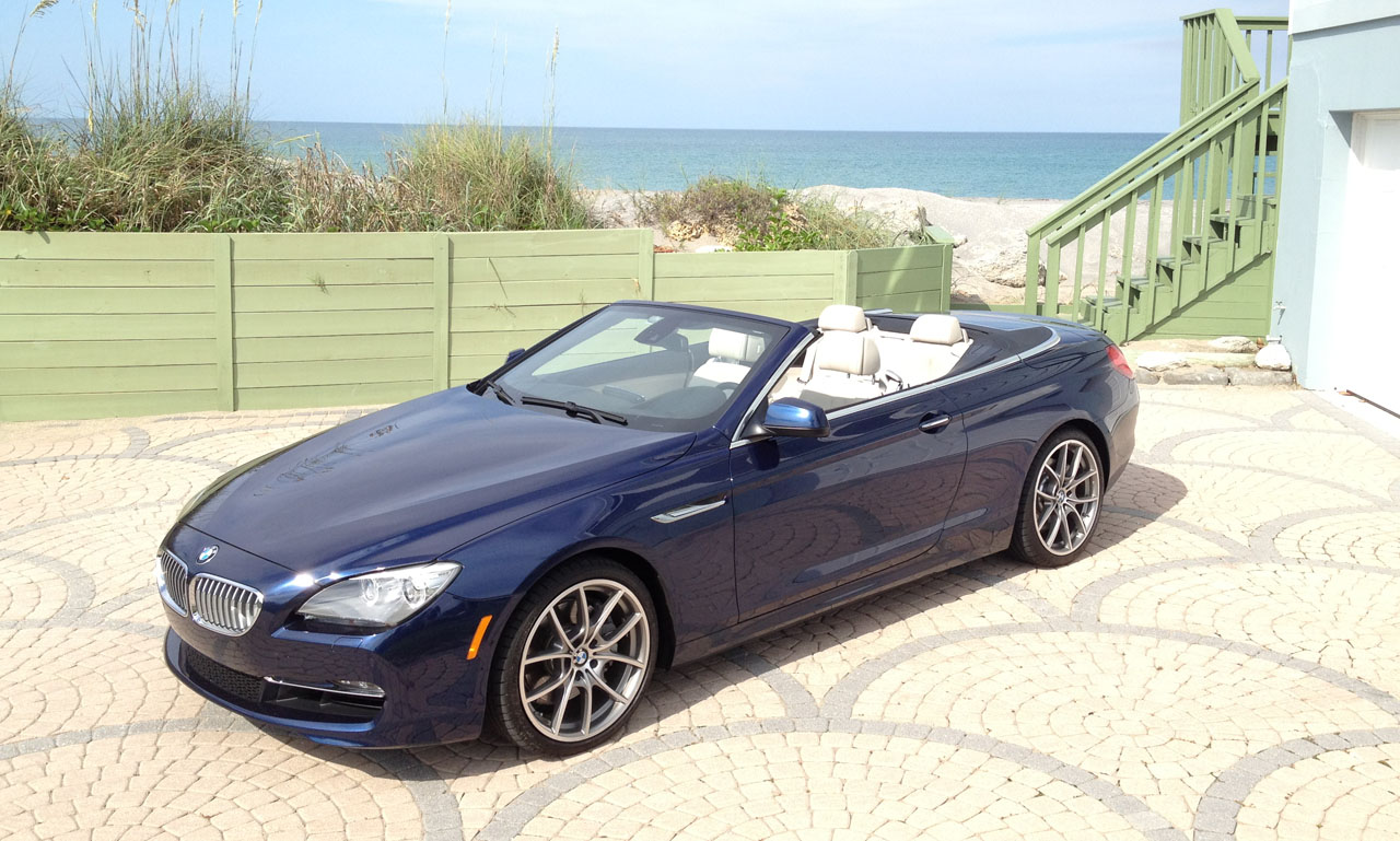Deep Sea Blue Metallic 2012 BMW 650i Convertible