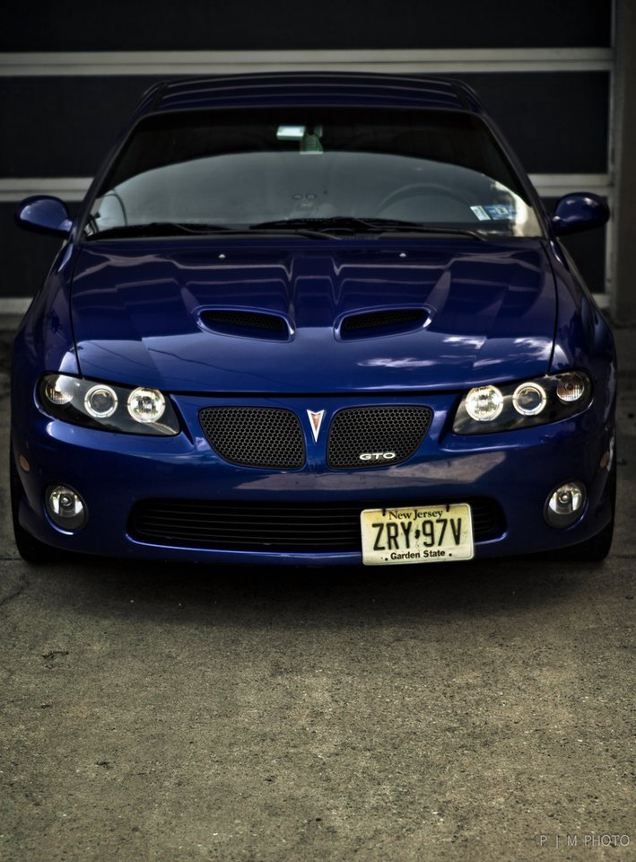 Impulse Blue Metallic 2006 Pontiac GTO