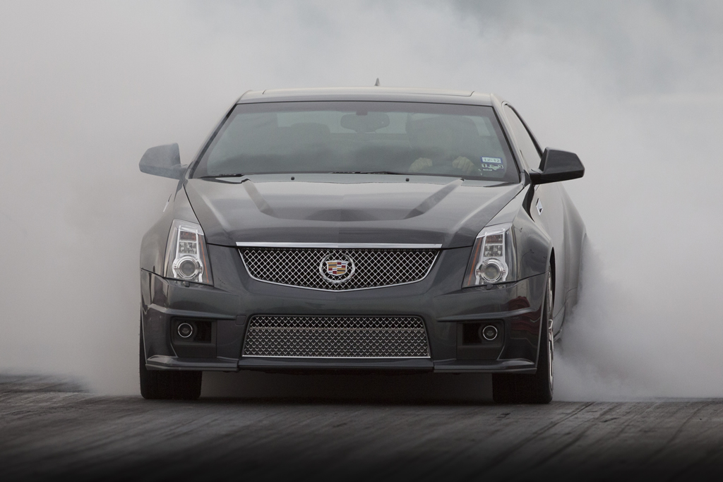 Thunder Gray 2011 Cadillac CTS-V Coupe