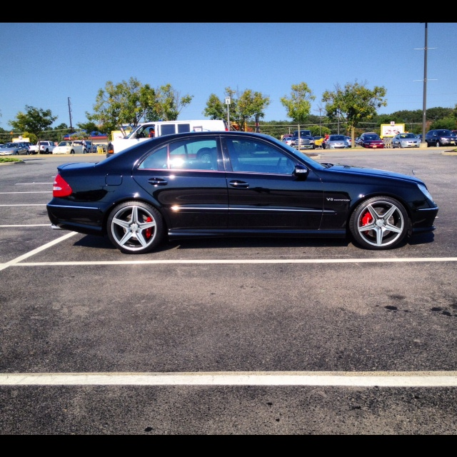 Stock 2006 Mercedes-Benz E55 AMG 1/4 mile Drag Racing timeslip specs ...