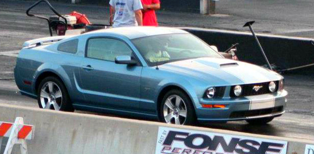 Windveil Blue 2006 Ford Mustang GT
