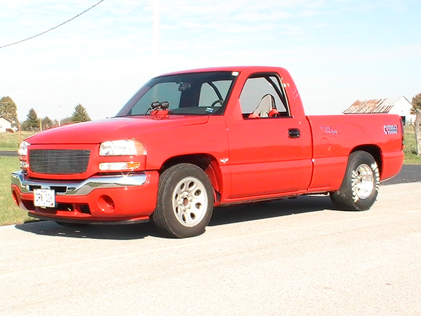 2006 Red GMC Sierra  picture, mods, upgrades