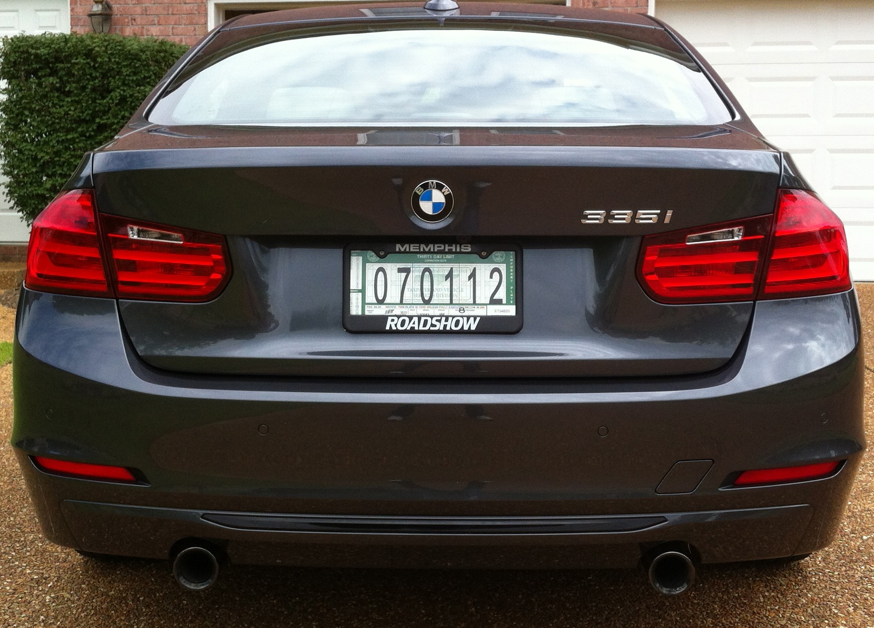 2012 Mineral Gray Metallic BMW 335i Sportline picture, mods, upgrades