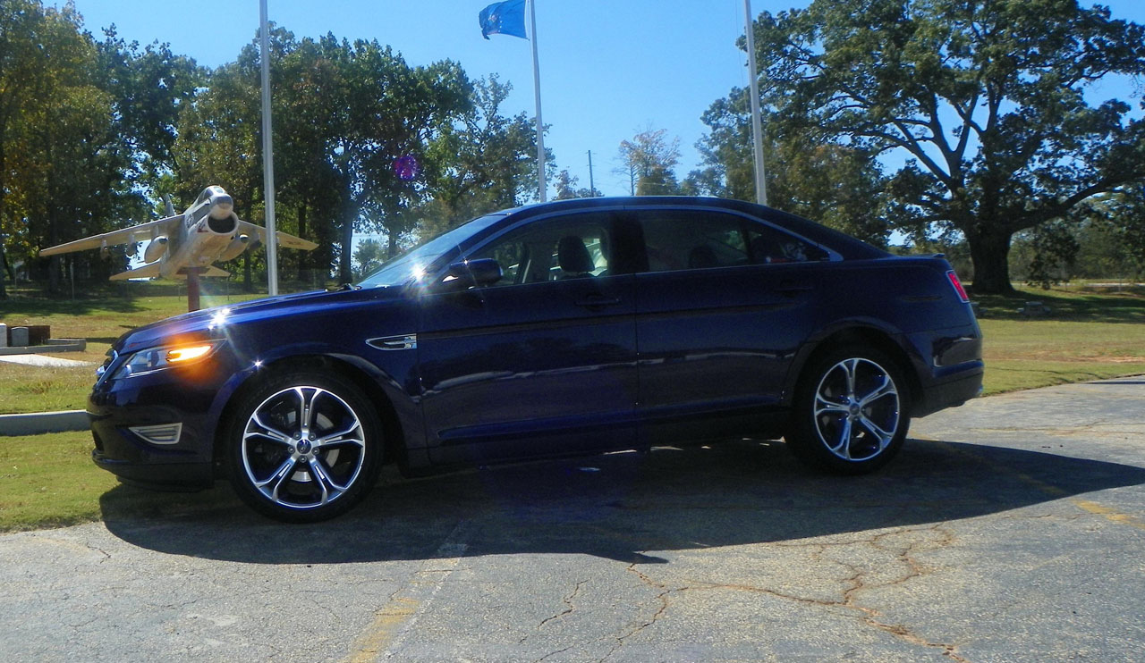 2011 KONA BLUE Ford Taurus SHO picture, mods, upgrades