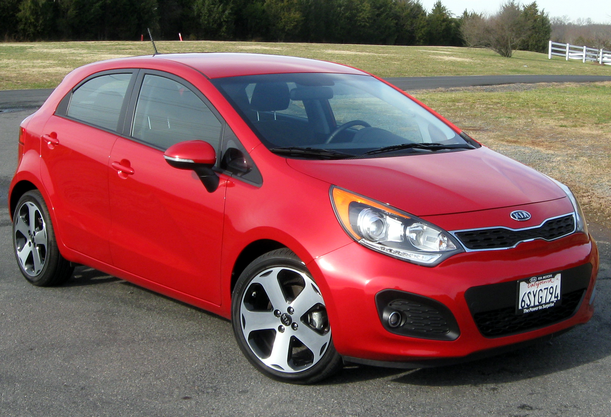 2012  Kia Rio 5 SX picture, mods, upgrades