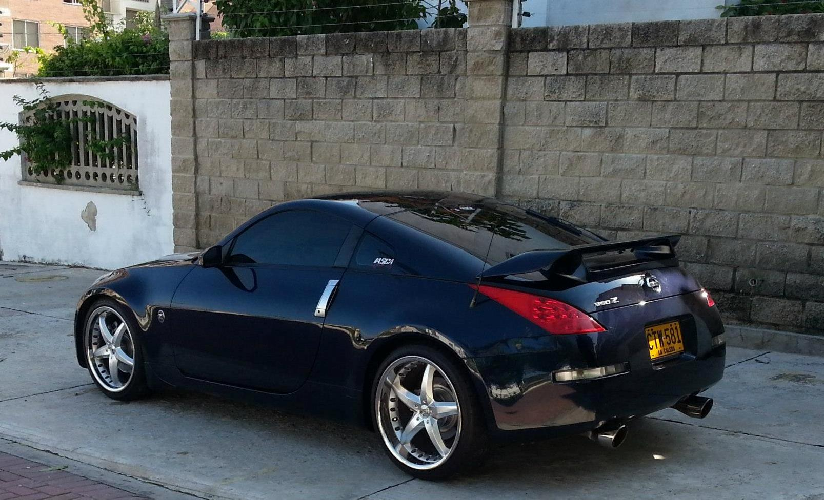 2007 Blue Nissan 350Z Base picture, mods, upgrades
