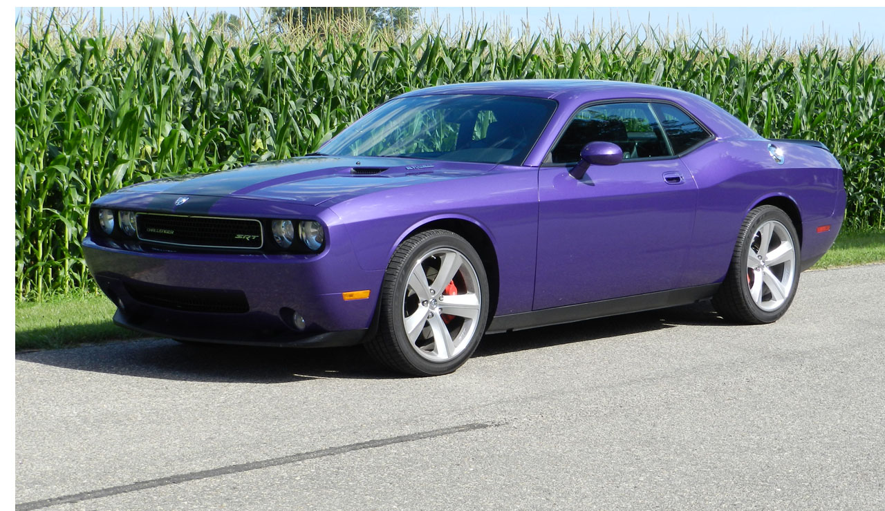 Plum crazy 2010 dodge challenger srt8