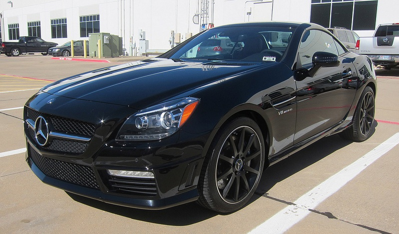 2013 Black Mercedes-Benz SLK55 AMG  picture, mods, upgrades