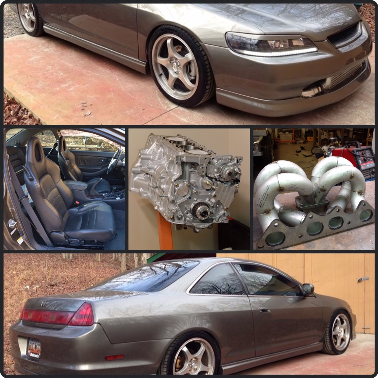 2001 Bronze Honda Accord EX picture, mods, upgrades