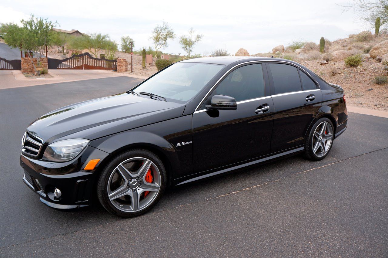 2011 Black Mercedes-Benz C63 AMG P31 AMG Development Package picture, mods, upgrades