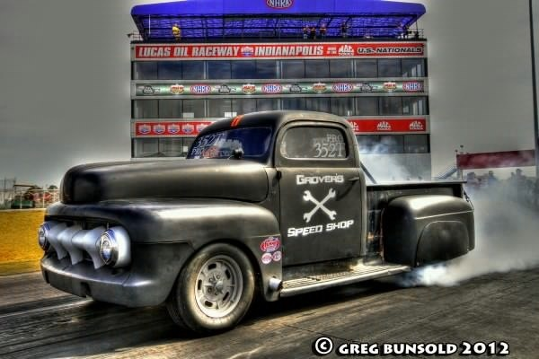 1952 Black Ford Pickup F-1 picture, mods, upgrades