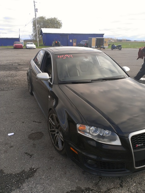 2008 Phantom Black Audi RS-4  picture, mods, upgrades