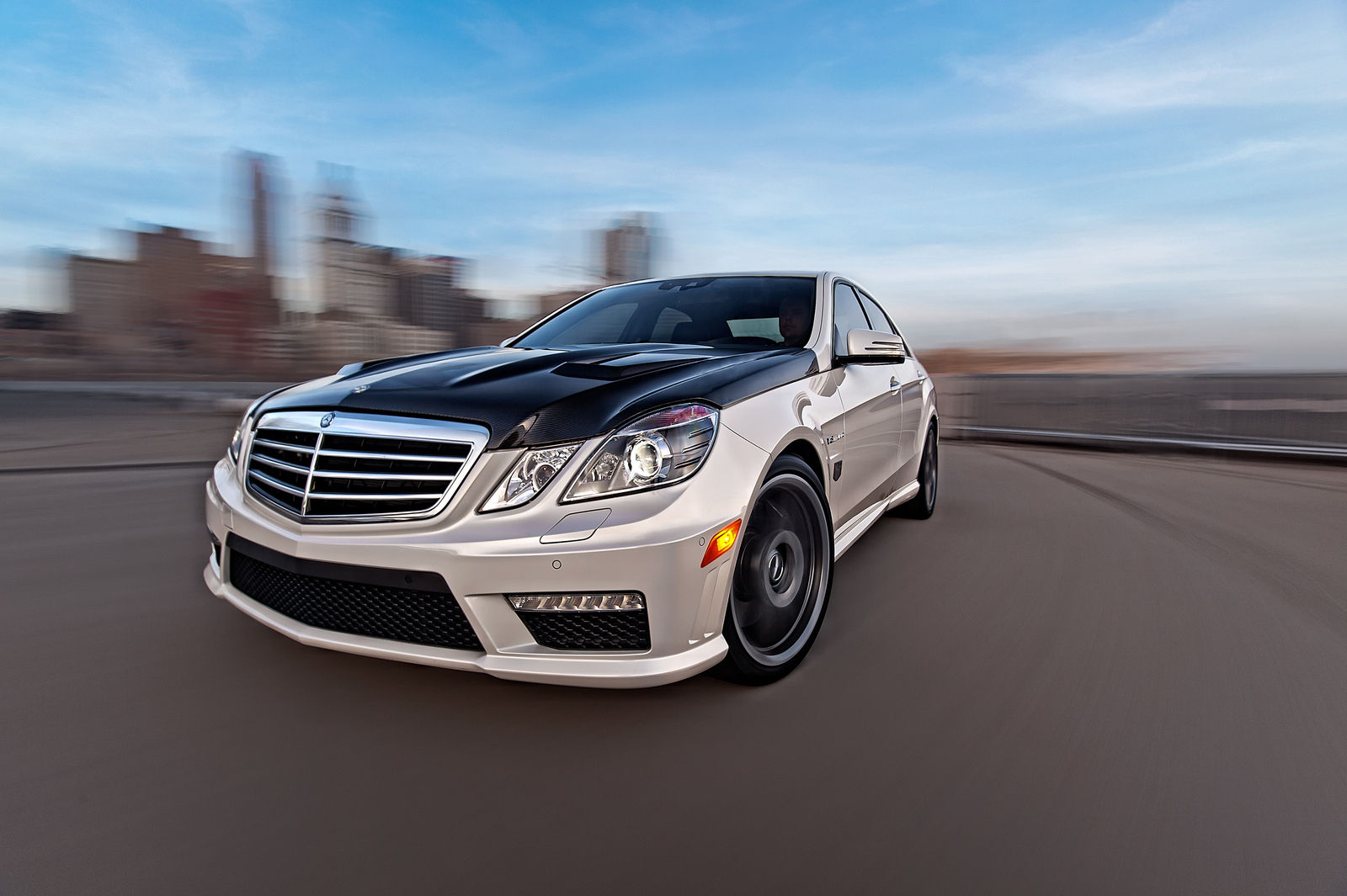 2012 Diamond White Mercedes-Benz E63 AMG MHP S2+ picture, mods, upgrades