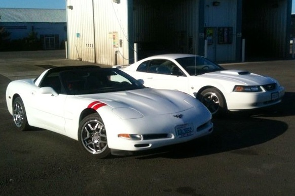 White 1999 Chevrolet Corvette C5