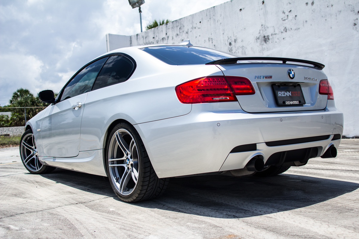 Metalic Silver 2011 BMW 335i RENNtech 335is