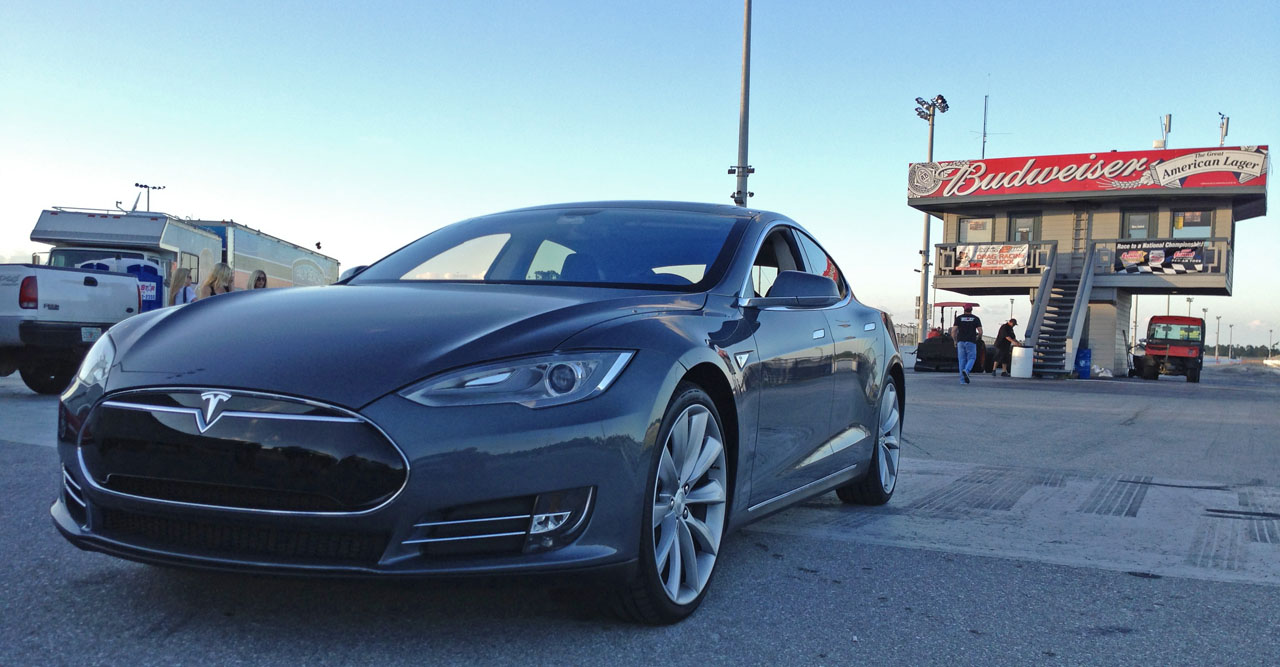 2012 Grey Tesla Model S Performance picture, mods, upgrades