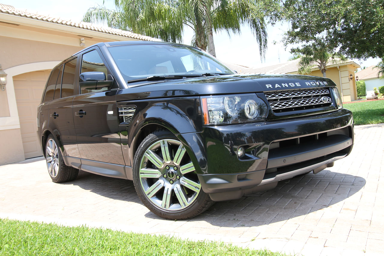 2012 Black Land Rover Range Rover Sport Supercharged picture, mods, upgrades