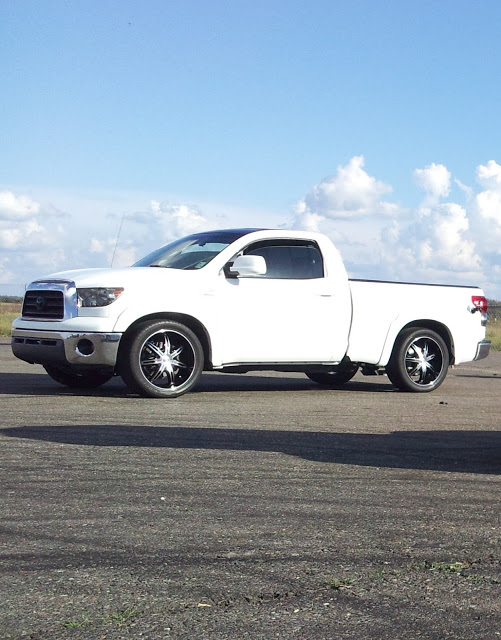 2008 White Toyota Tundra RCSB 5.7 picture, mods, upgrades