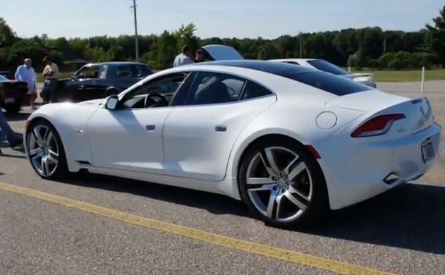 2012 White Fisker Karma  picture, mods, upgrades