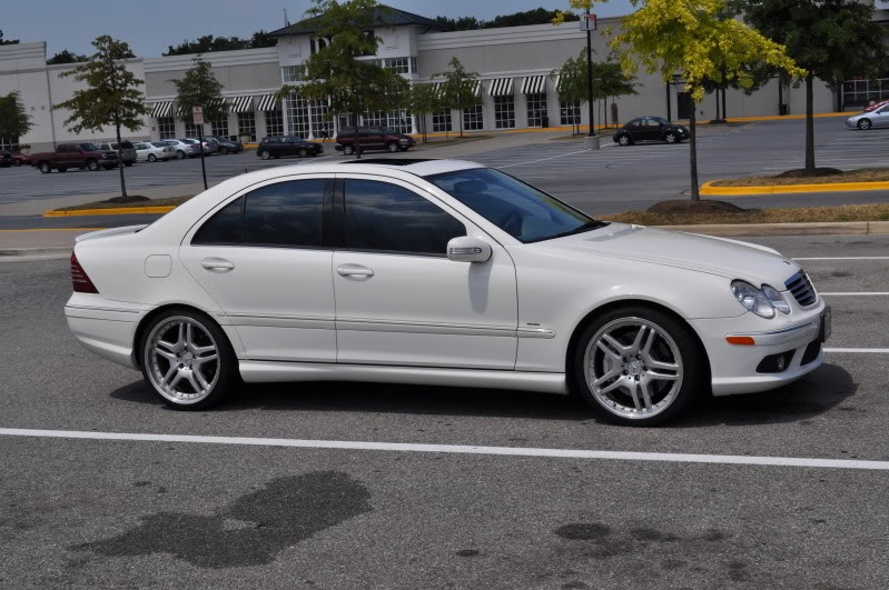 2006 Alabaster White Mercedes-Benz C55 AMG  picture, mods, upgrades
