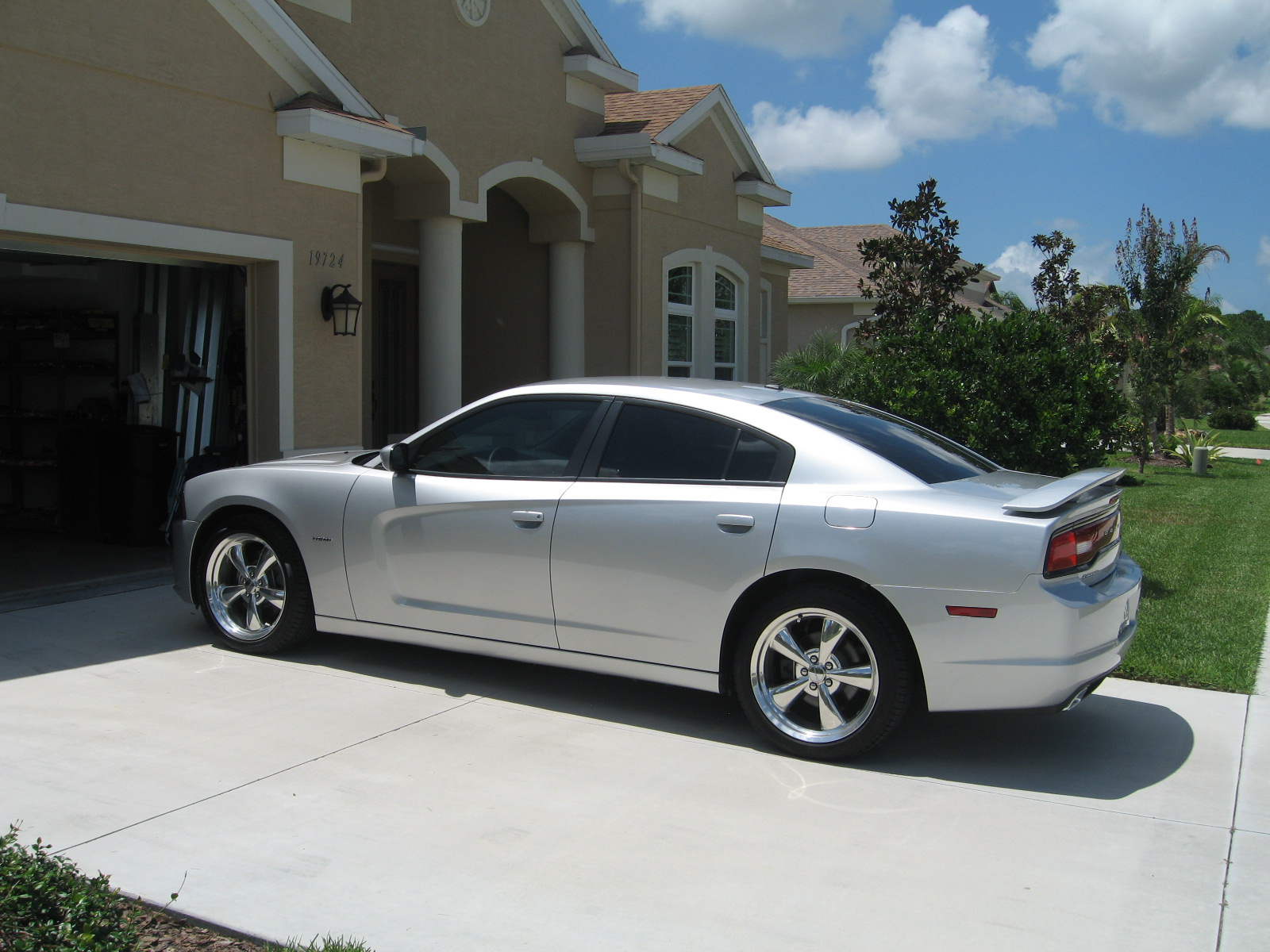 2012 silver Dodge Charger R/T picture, mods, upgrades