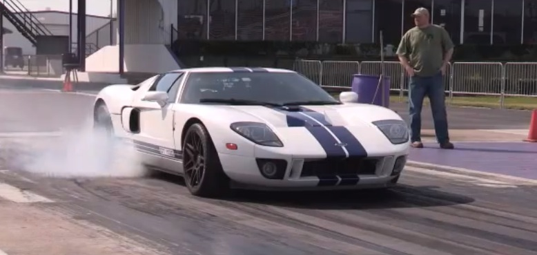2005 Ford GT Supercharged Twin Turbo Nitrous 1/4 mile Drag Racing ...