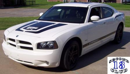 White 2007 Dodge Charger RT