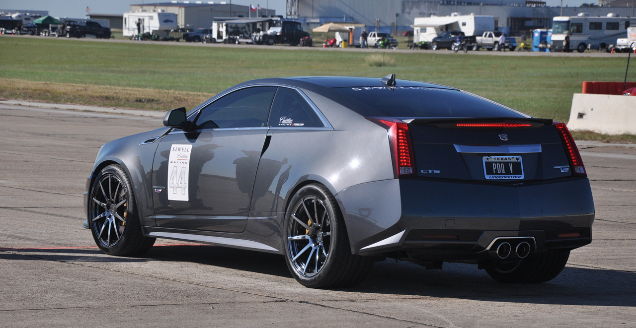 Thunder gray 2011 cadillac cts v coupe