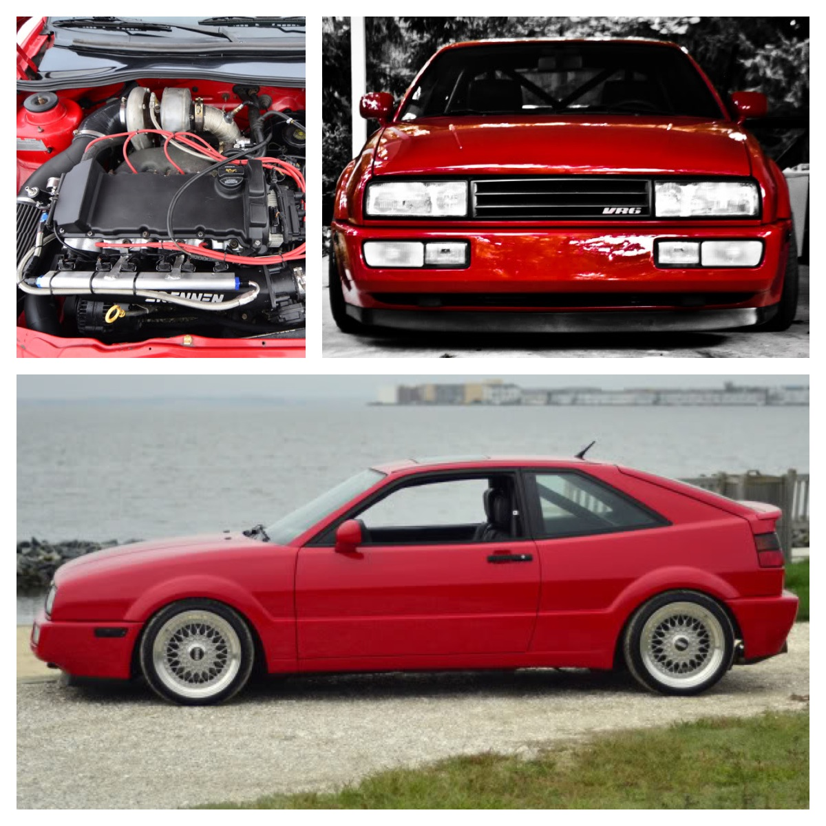 Flash Red 1993 Volkswagen Corrado SLC