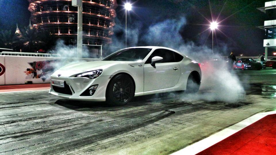 All White 2013 Scion FR-S GT86