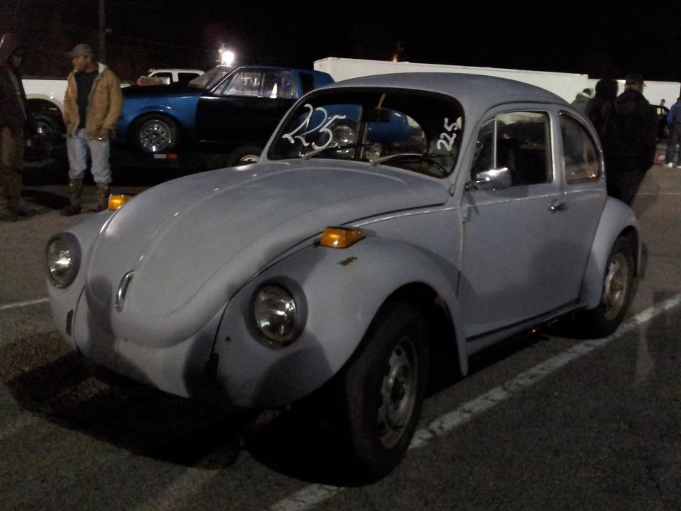 Grey 1972 Volkswagen Beetle Super