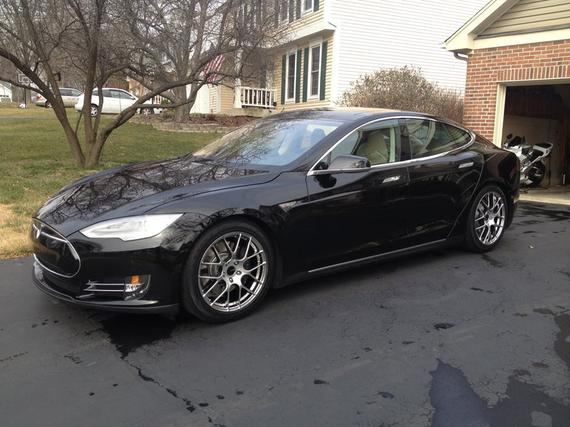 2012 Tesla Model S 85 Non-Performance