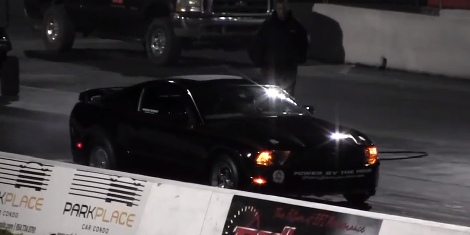 2011 Black Ford Mustang F1C Procharger picture, mods, upgrades