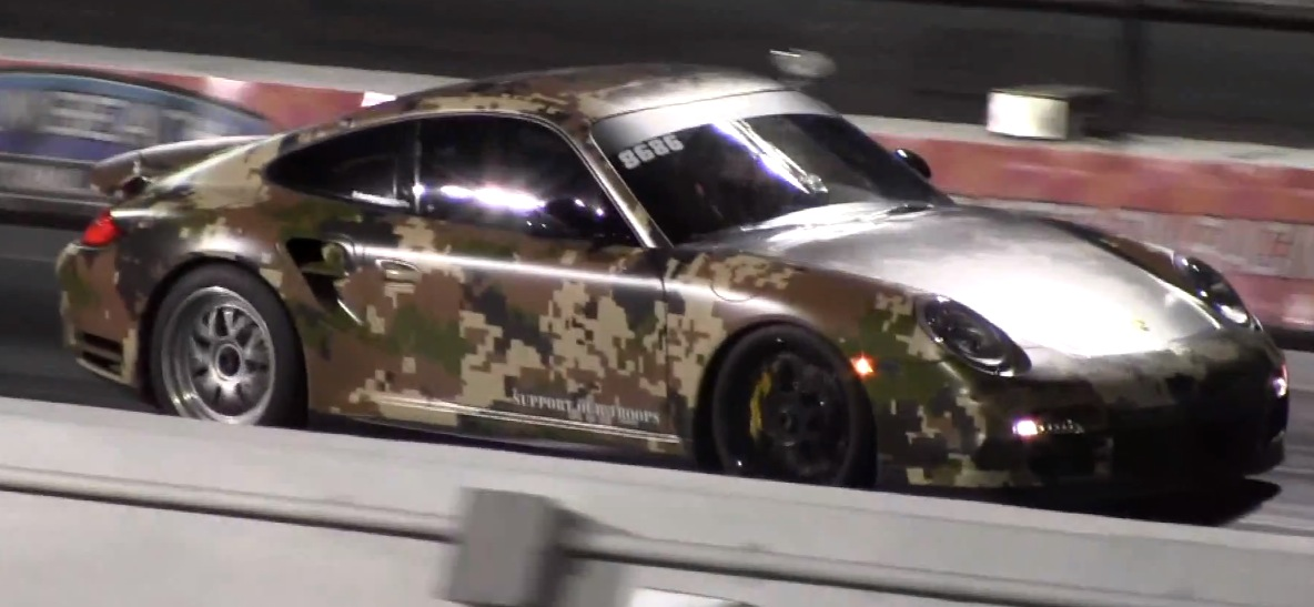 Camo 2010 Porsche 911 Turbo S Champion