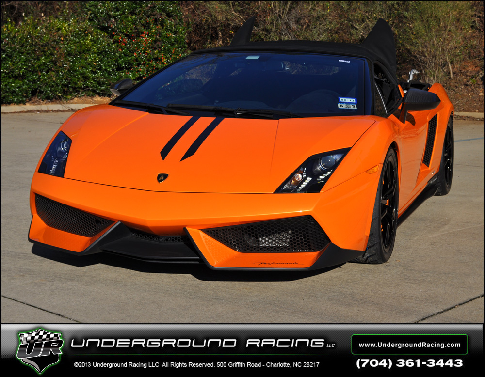 2011 Arancio Borealis Lamborghini Gallardo LP570-4 Performante UGR Twin Turbo picture, mods, upgrades