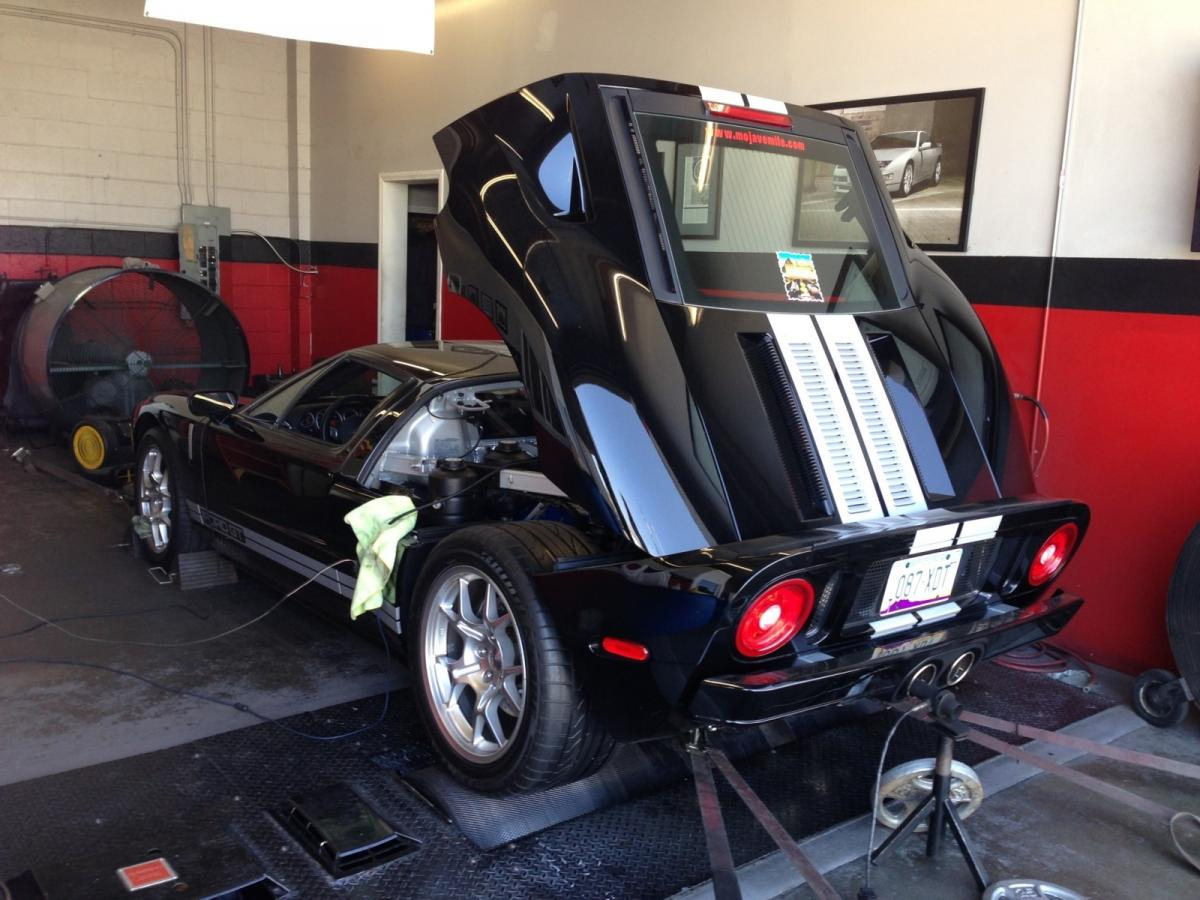 2005 Black with White Stripes Ford GT Whipple picture, mods, upgrades