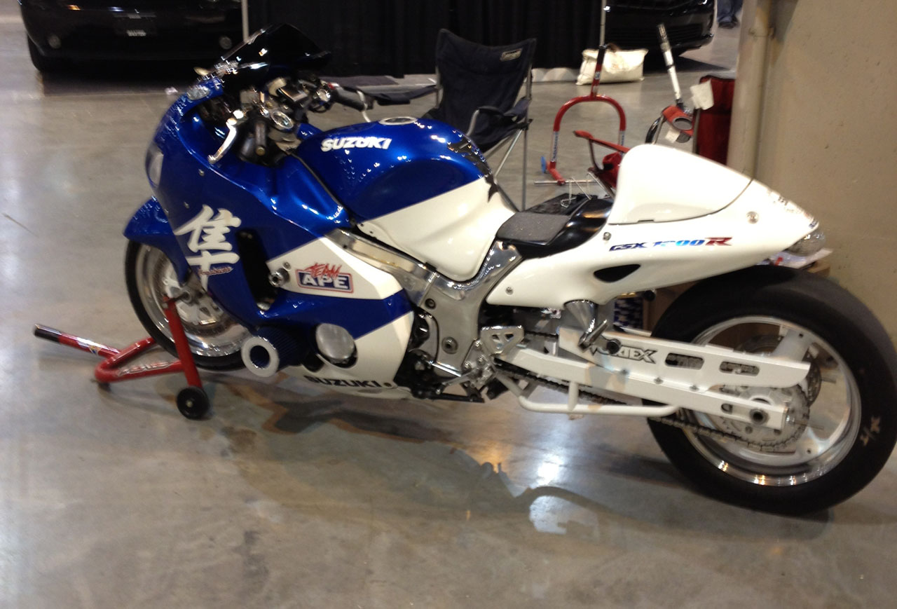 1999 Blue/white Suzuki Hayabusa  picture, mods, upgrades