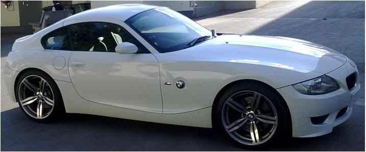 2010 White BMW Z4 M-Coupe  picture, mods, upgrades
