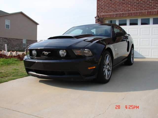 2012 Black Ford Mustang GT 5.0L Coyote picture, mods, upgrades