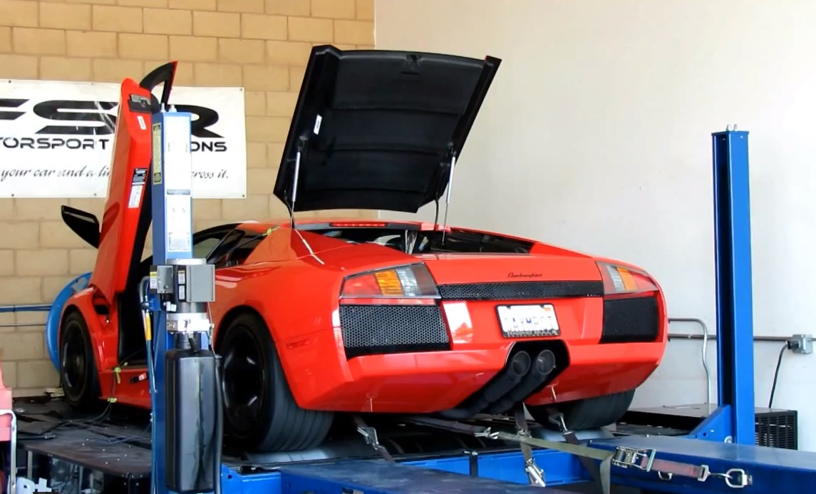 2003  Lamborghini Murcielago X-OST Exhaust picture, mods, upgrades