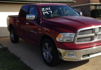 2012 Deep Cherry  Dodge Ram 1500 Lonestar crew cab picture, mods, upgrades