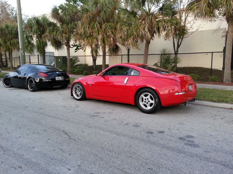 2008 Nogaro Red Nissan 350Z Base picture, mods, upgrades