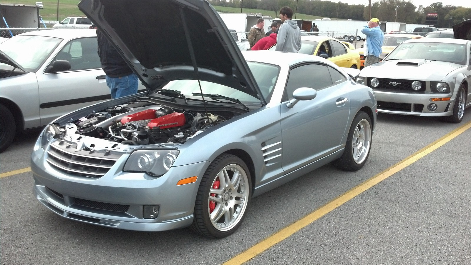 chrysler crossfire srt6. ssb 2005 chrysler crossfire srt6 srt6 t