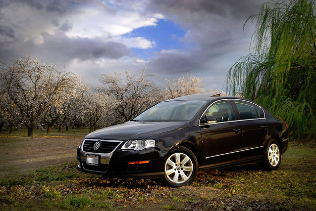 2006 Black Volkswagen Passat B6 2.0T Auto APR Stage-1(22PSI) Mixed 93/100octane 280AAA Tires picture, mods, upgrades