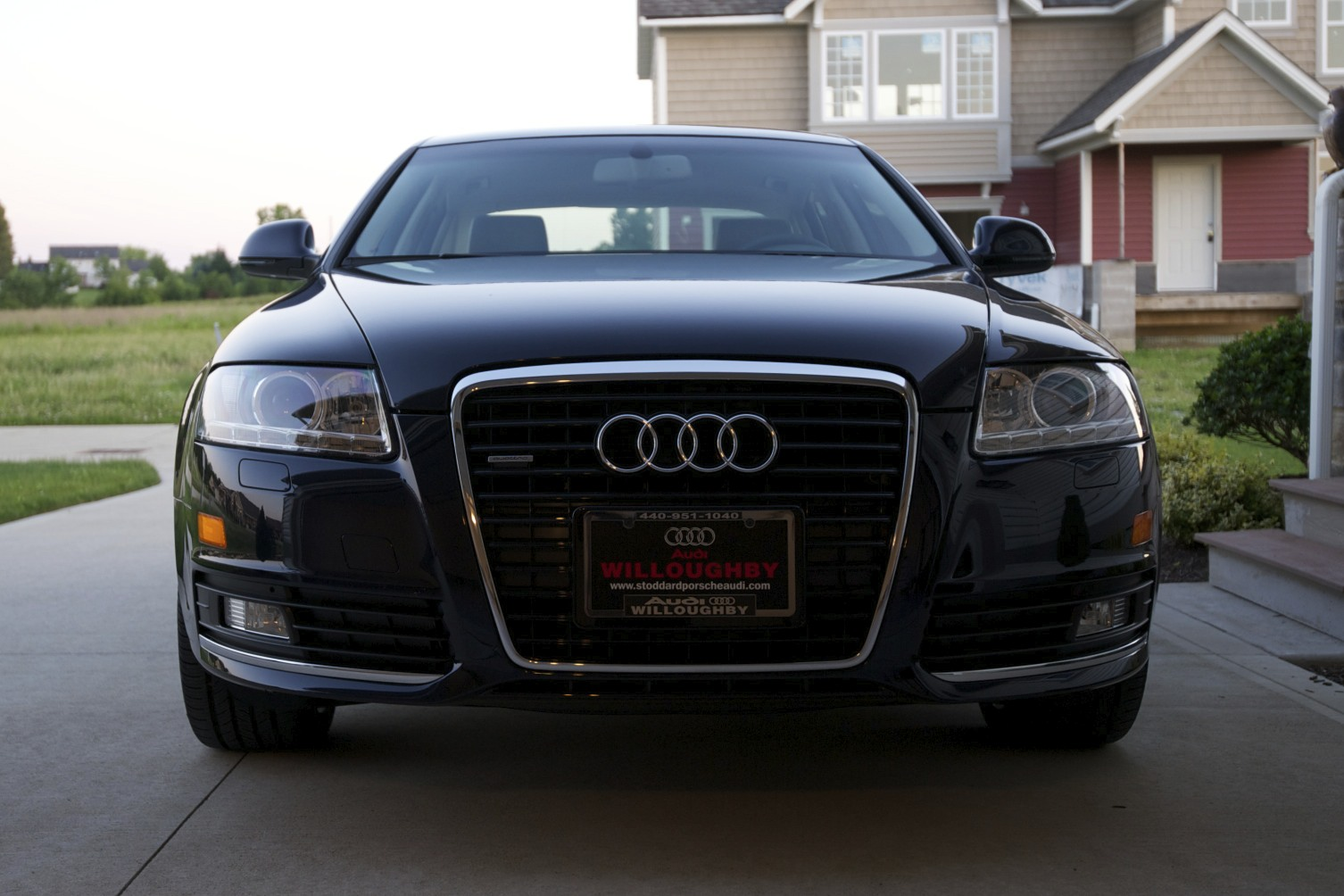 2010 Blue Audi A6 3.0T Stasis picture, mods, upgrades