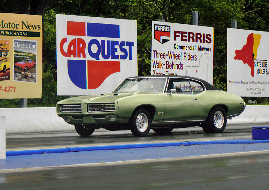 1969 green Pontiac GTO  picture, mods, upgrades