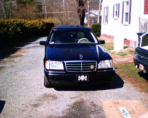 Black 1999 Mercedes-Benz S320 S320 Nitrous