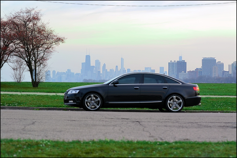 2009 Phantom Black Audi A6 Prestige picture, mods, upgrades
