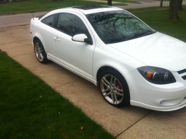 2009 White Chevrolet Cobalt SS picture, mods, upgrades