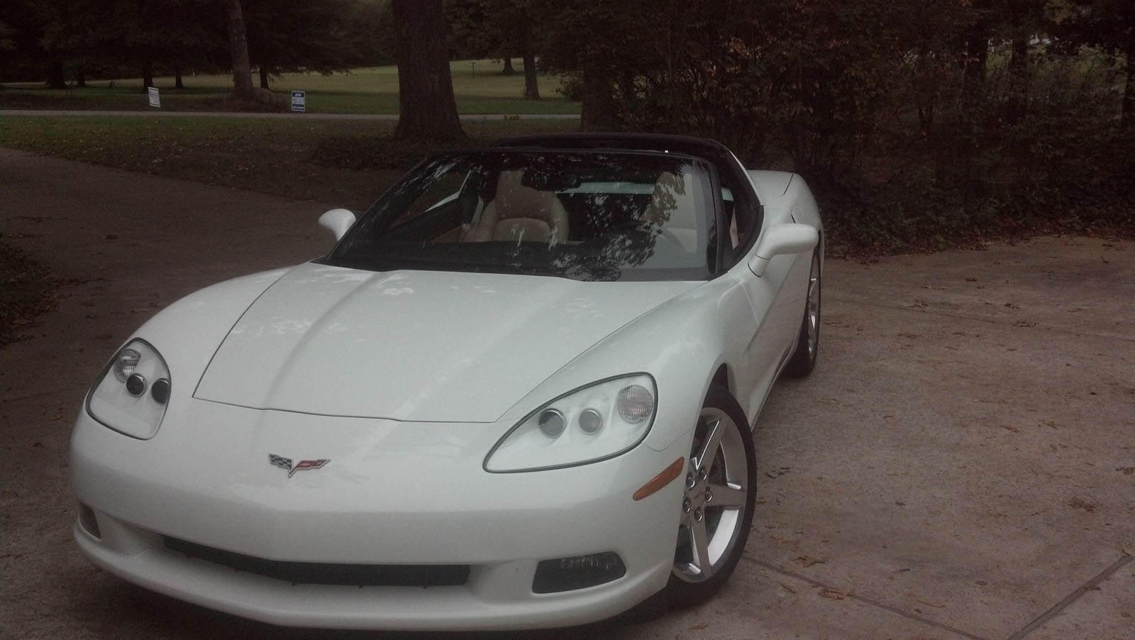 2006 Artic White Chevrolet Corvette Base LS2 400 CI picture, mods, upgrades